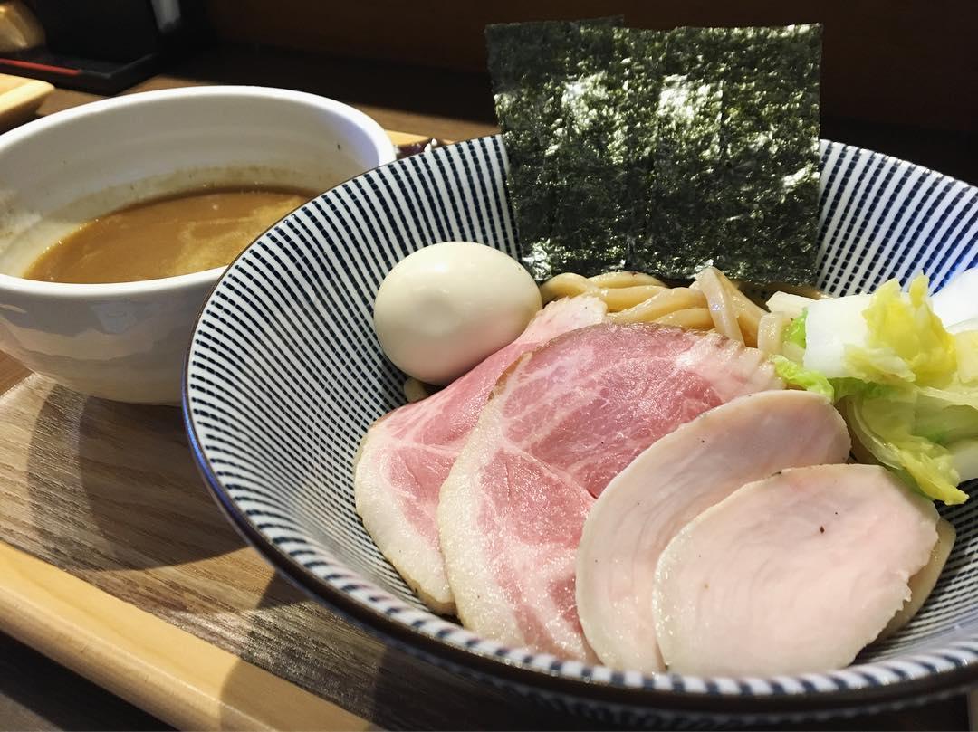 【長男、もんたいちお】特製つけ麺 (千葉県市川市八幡) 第1162回