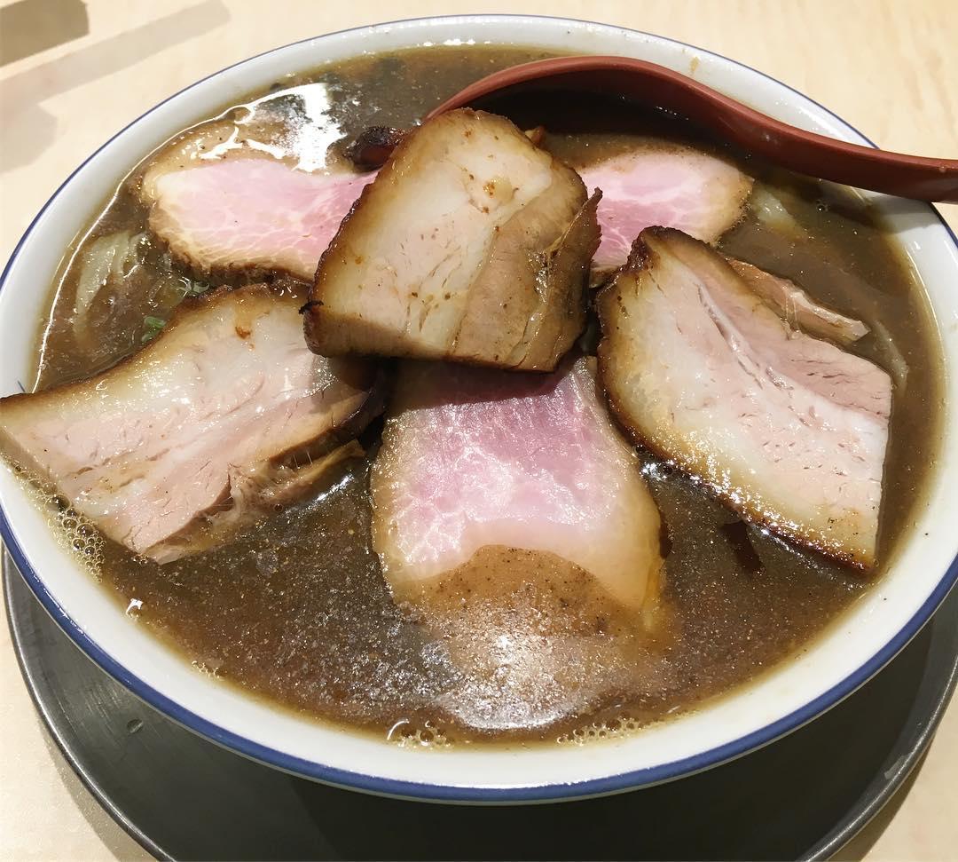 【食堂 七彩(しちさい)】喜多方らーめん TYPE-SA(肉) (東京都中野区鷺宮) 第427回