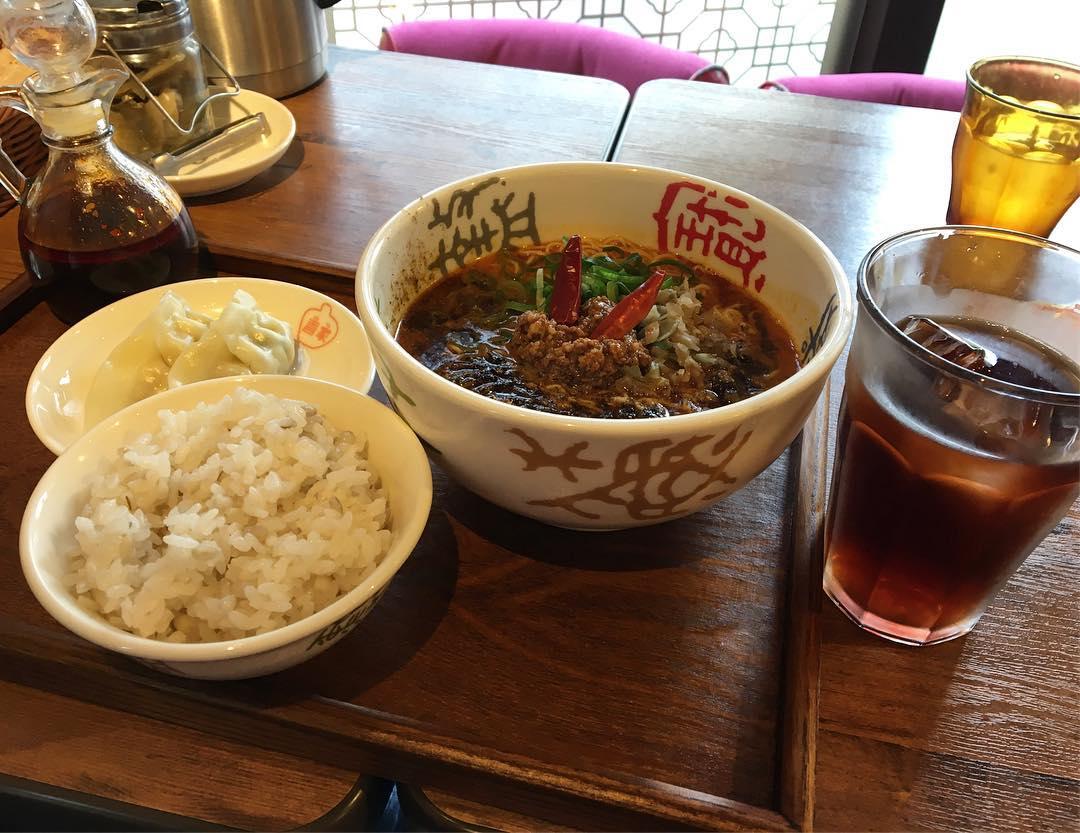 【香家 野方駅前店】鬼・担々麺(もっと辛く) (東京都中野区野方) 第561回