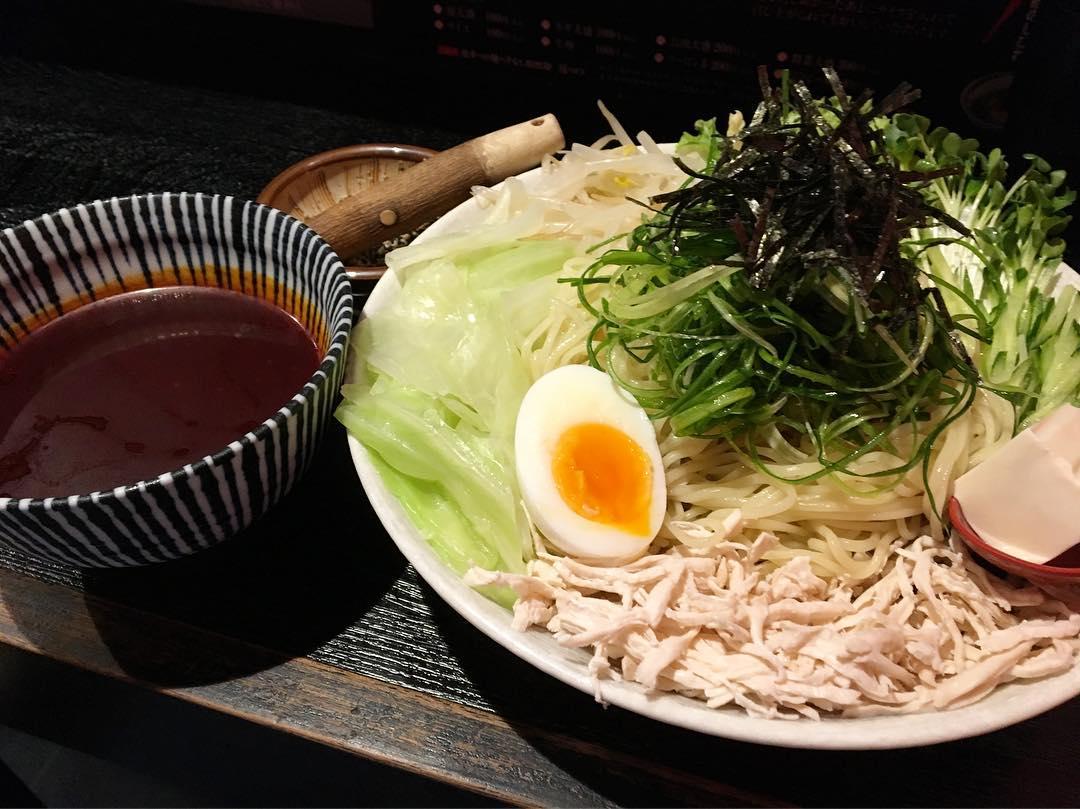 【鯉のぼり】激辛つけ麺(6辛) (東京都中野区中野) 第687回