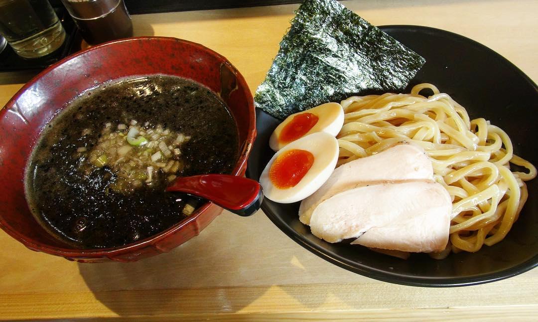 【鶏そば まるだい】まるだいつけ麺、トッピング:味付玉子 (千葉県野田市山崎) 第541回