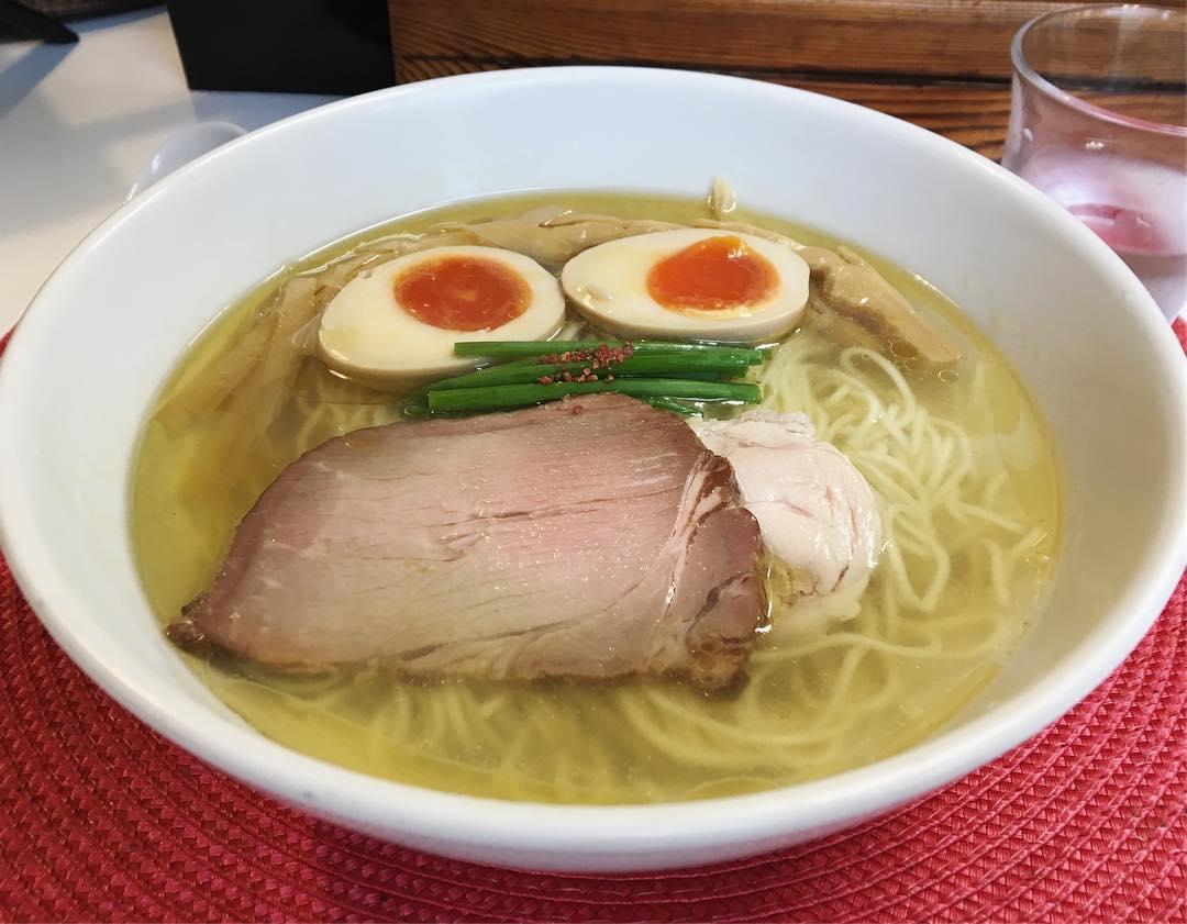 【麺や金時(きんとき)】味玉塩らぁ麺 (東京都練馬区小竹町) 第1068回