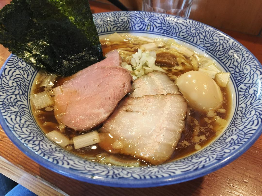【麺処 ほん田】特製手揉み中華蕎麦 醤油(太麺) (東京都北区東十条) 第1130回
