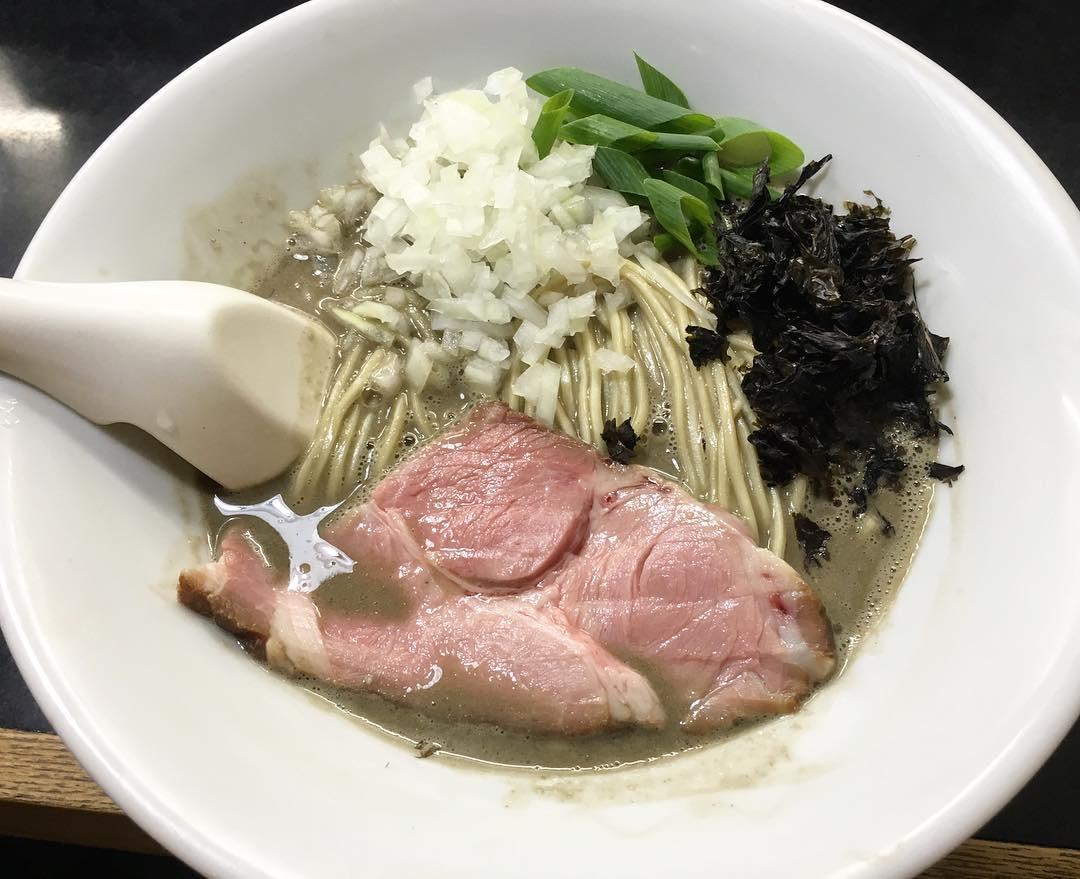 【麺処 晴(はる)】限定濃厚そば+和え玉(塩) (東京都台東区下谷) 第348回