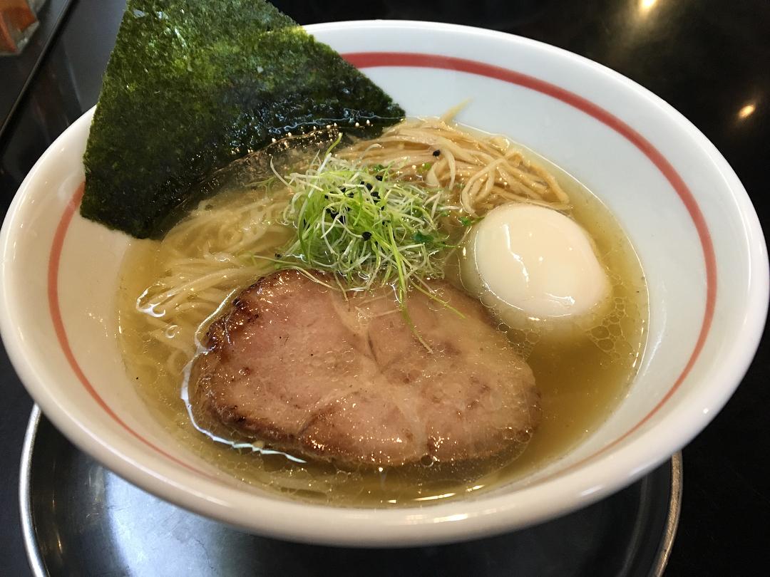 【麺坊ひかり】味玉柳麺(塩) (岐阜県岐阜市柳津町) 第777回