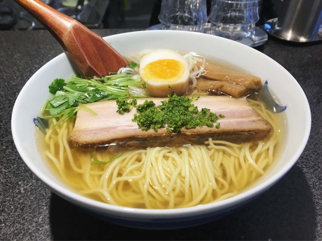 【麺屋ひょっとこ 銀座店】和風柚子柳麺 (東京都千代田区有楽町) 第993回