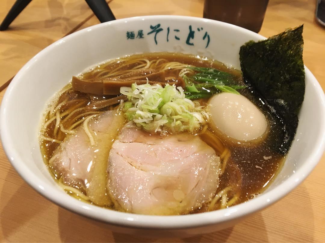 【麺屋 そにどり】味玉醤油ラーメン (三重県四日市市堀木) 第1060回