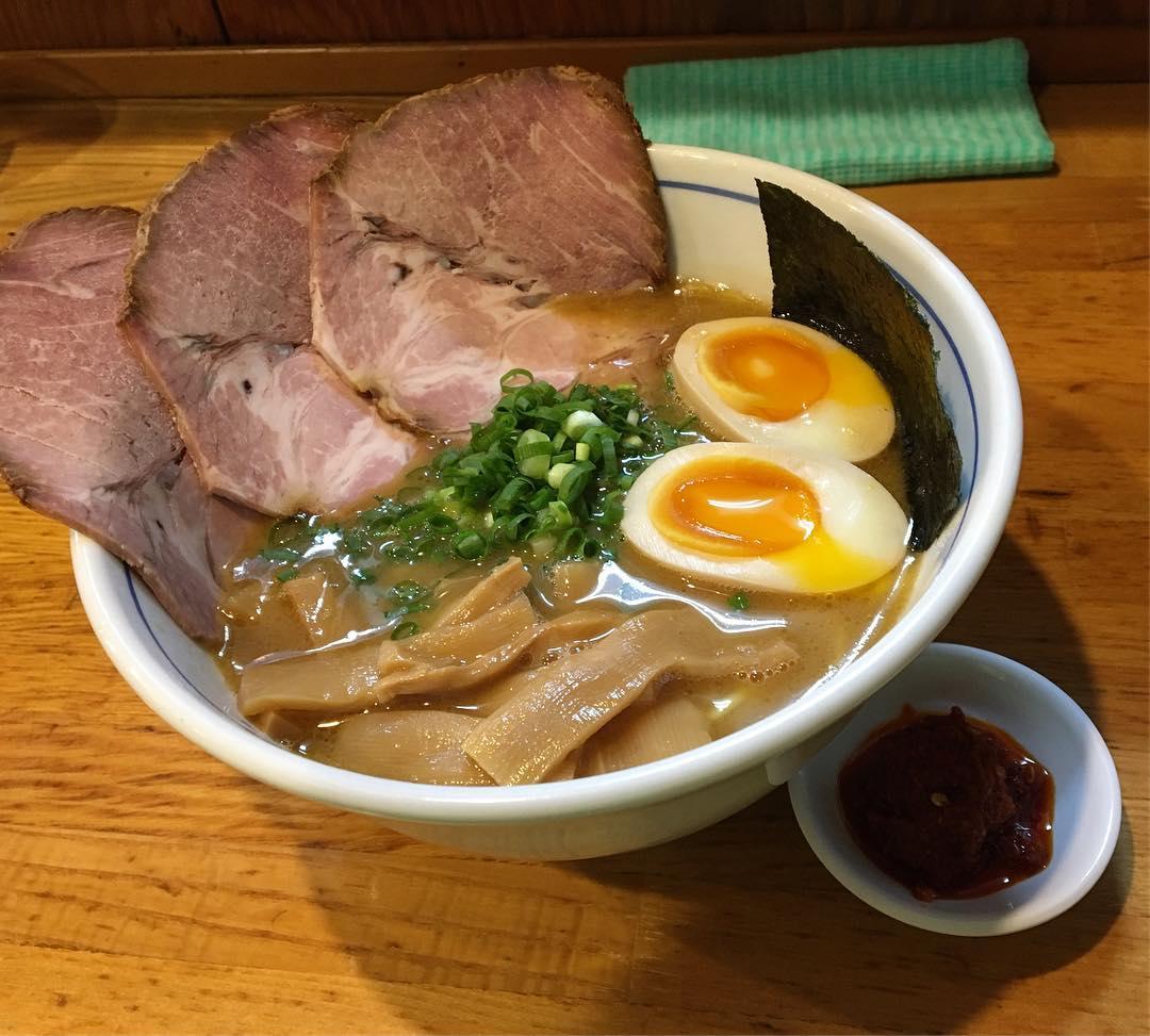 【麺屋 はし本】辛味特製らー麺 (東京都中野区新井) 第734回