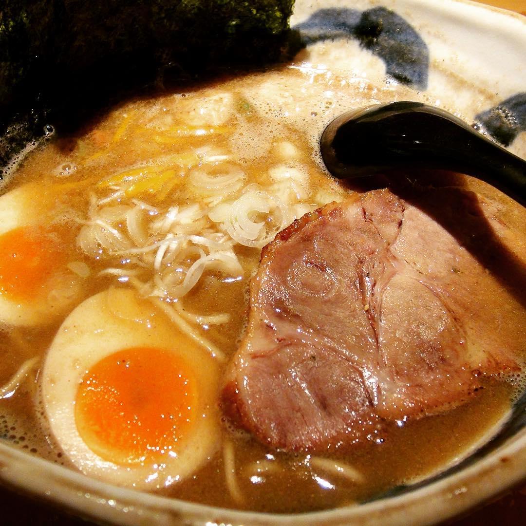 【麺屋 音】特製煮干しそば(しょう油) (東京都足立区千住) 第220回