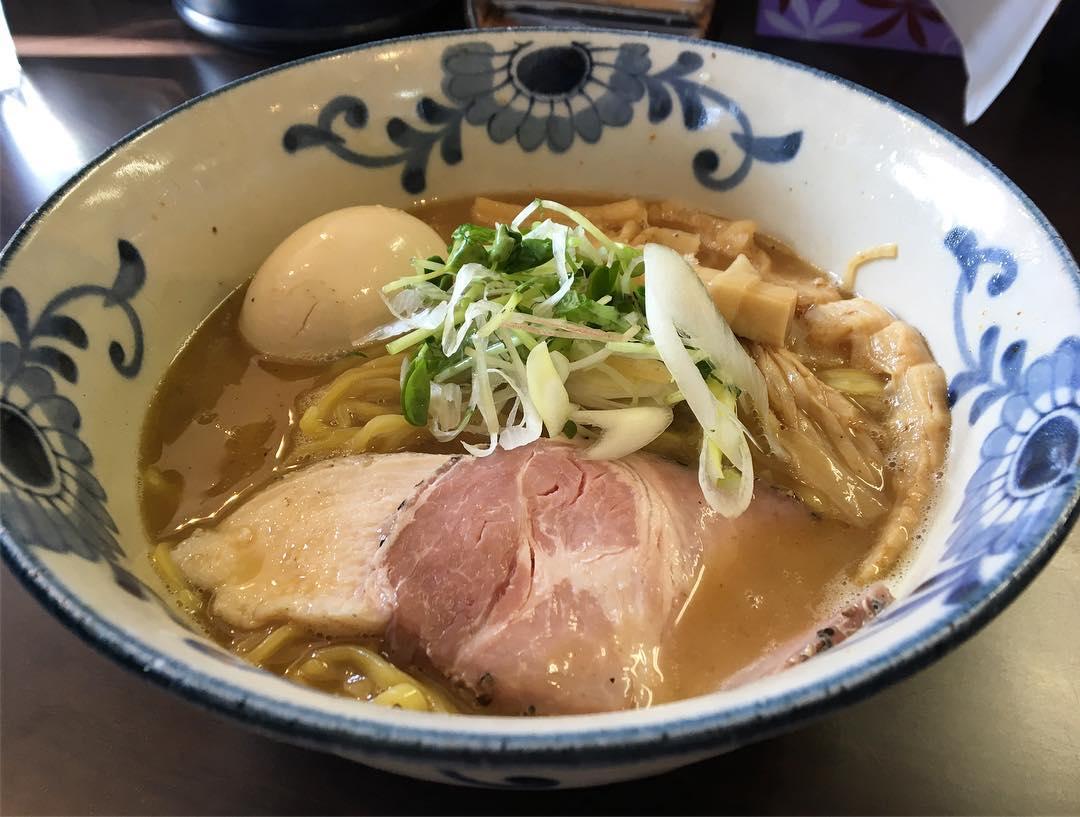 【麺屋AMORE(あもーれ)】味玉バリ鰹らーめん (静岡県浜松市浜北区) 第748回