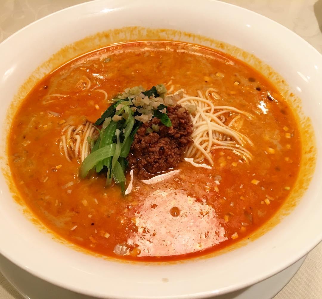 【龍の子】担々麺 (東京都渋谷区神宮) 第316回