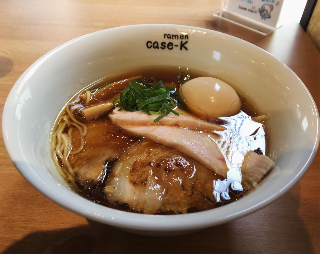【ramen case-K】特製らぁめん(醤油) (千葉県習志野市大久保) 第893回