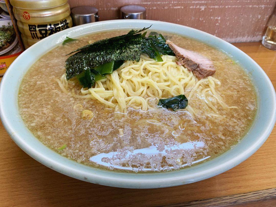 【なかむら屋】ジャンボラーメン麺5玉 (東京都世田谷区野毛) 第1400回