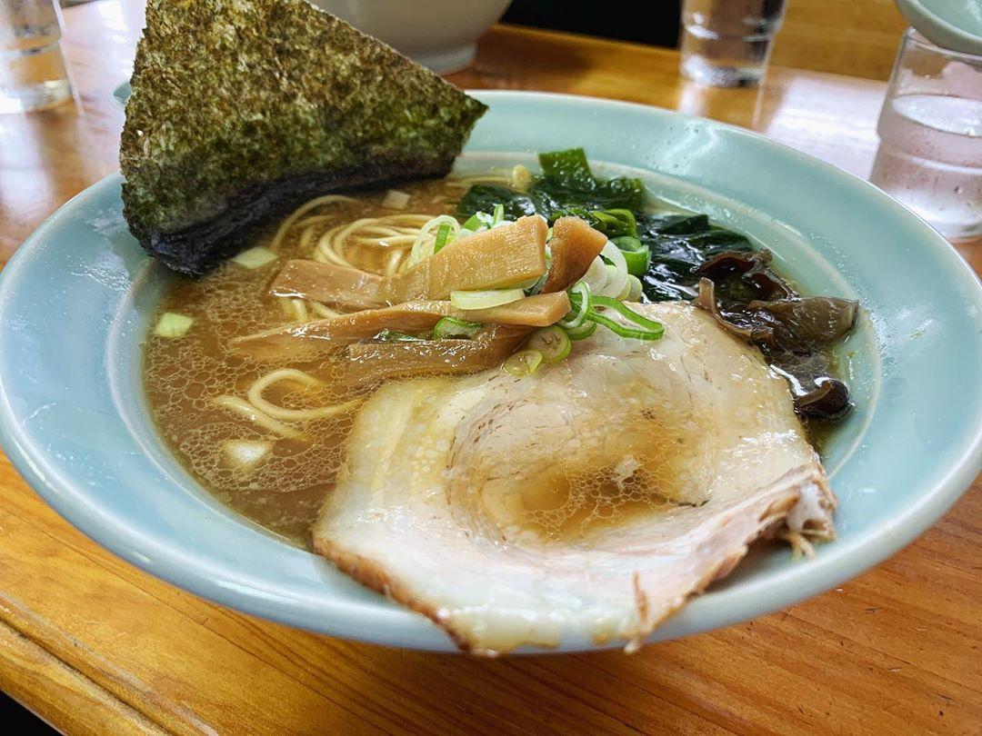 【中富】醤油らーめん肉玉ライス (鳥取県鳥取市南安長) 第1413回