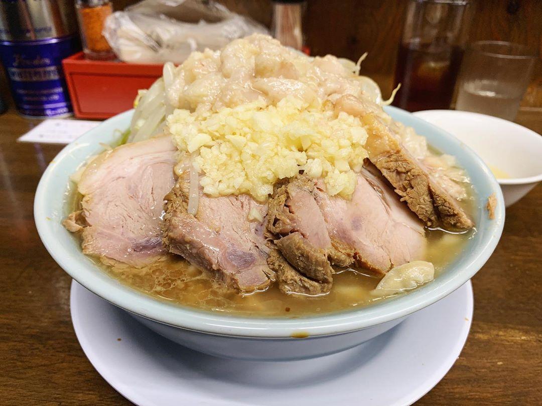 【らーめん玄】小豚ラーメン+生卵 (東京都世田谷区北沢) 第1439回