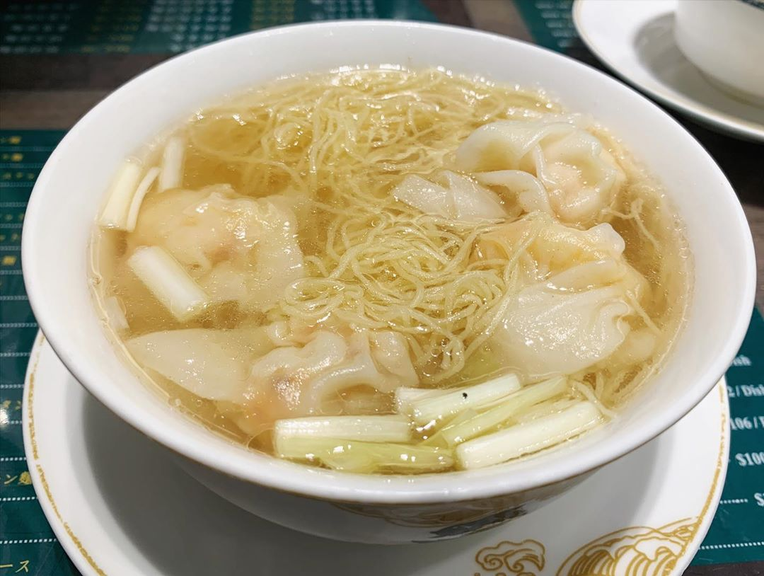 【Mak's Noodle(麥奀雲吞麵世家)】 ワンタン麺 (香港) 第1435回