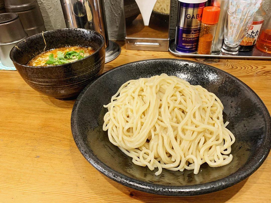 【竹麓らーめん】爆裂牛スジつけ麺 (東京都中野区中野) 第1454回