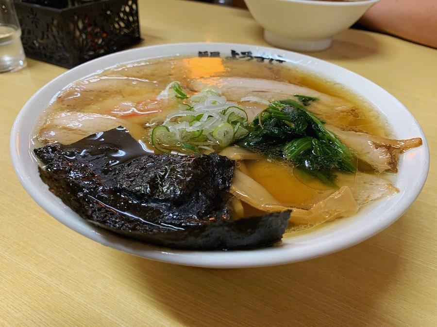 【麺屋 ようすけ】チャーシューメン+のり (栃木県佐野市田島町) 第1434回