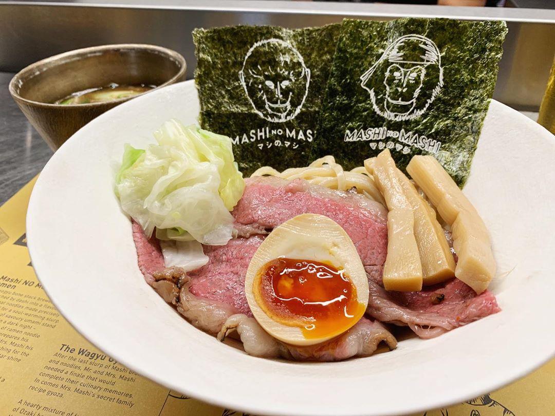【MASHI NO MASHI】和牛つけ麺・サムライボム (香港) 第1437回