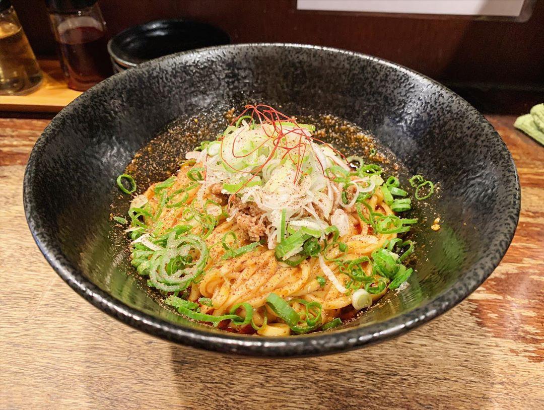 【うさぎ】汁なし担々麺 2辛 (東京都渋谷区神泉町) 第1478回