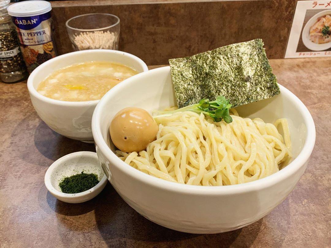 【ヌードルサウンズ】ホタテ69つけ麺+とろーり味玉 (東京都文京区本郷) 第1475回