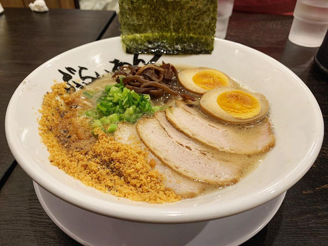 【ラーメンとかぶらいあん】味玉GTP+ハラミめし (静岡県静岡市駿河区) 第1461回