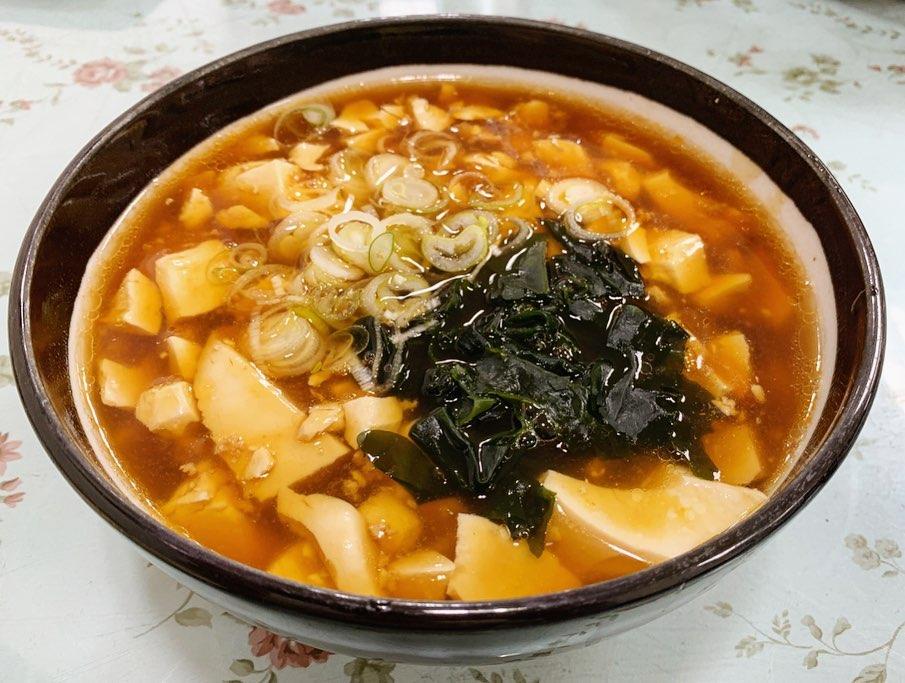 【レストラン大手門】豆腐ラーメン (埼玉県さいたま市岩槻区) 第1479回