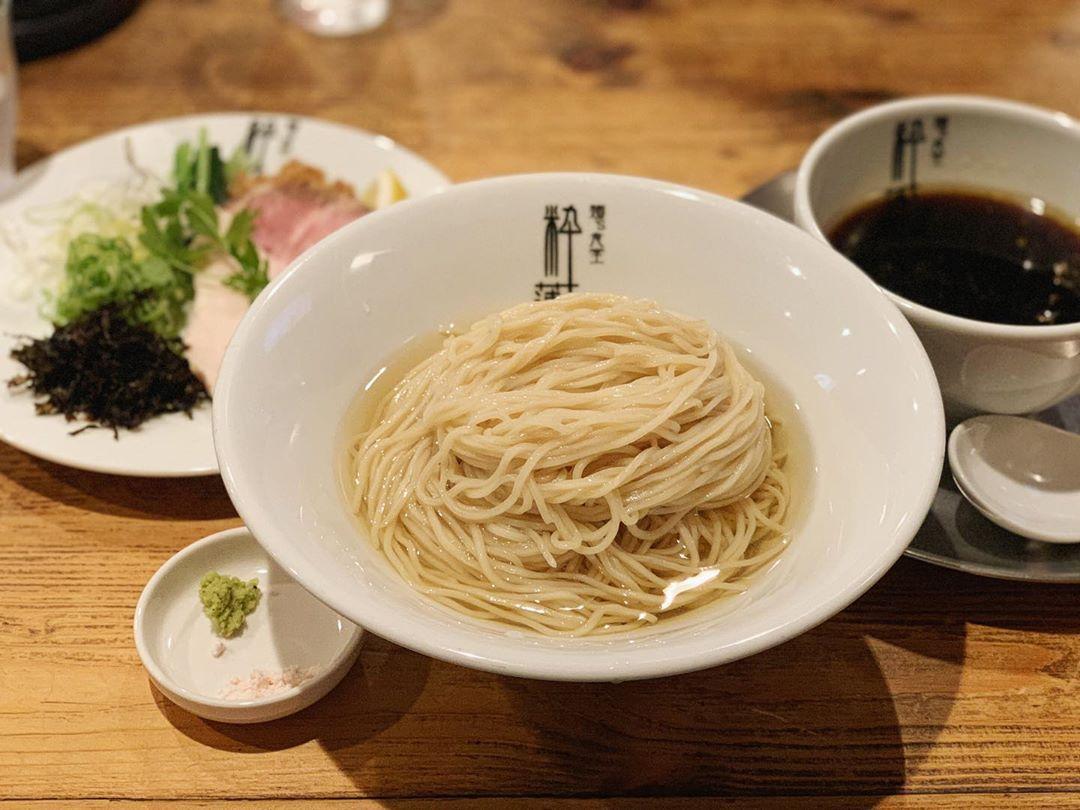 【麺's食堂 粋蓮】プレミアム醤油つけ麺 (静岡県焼津市焼津) 第1468回