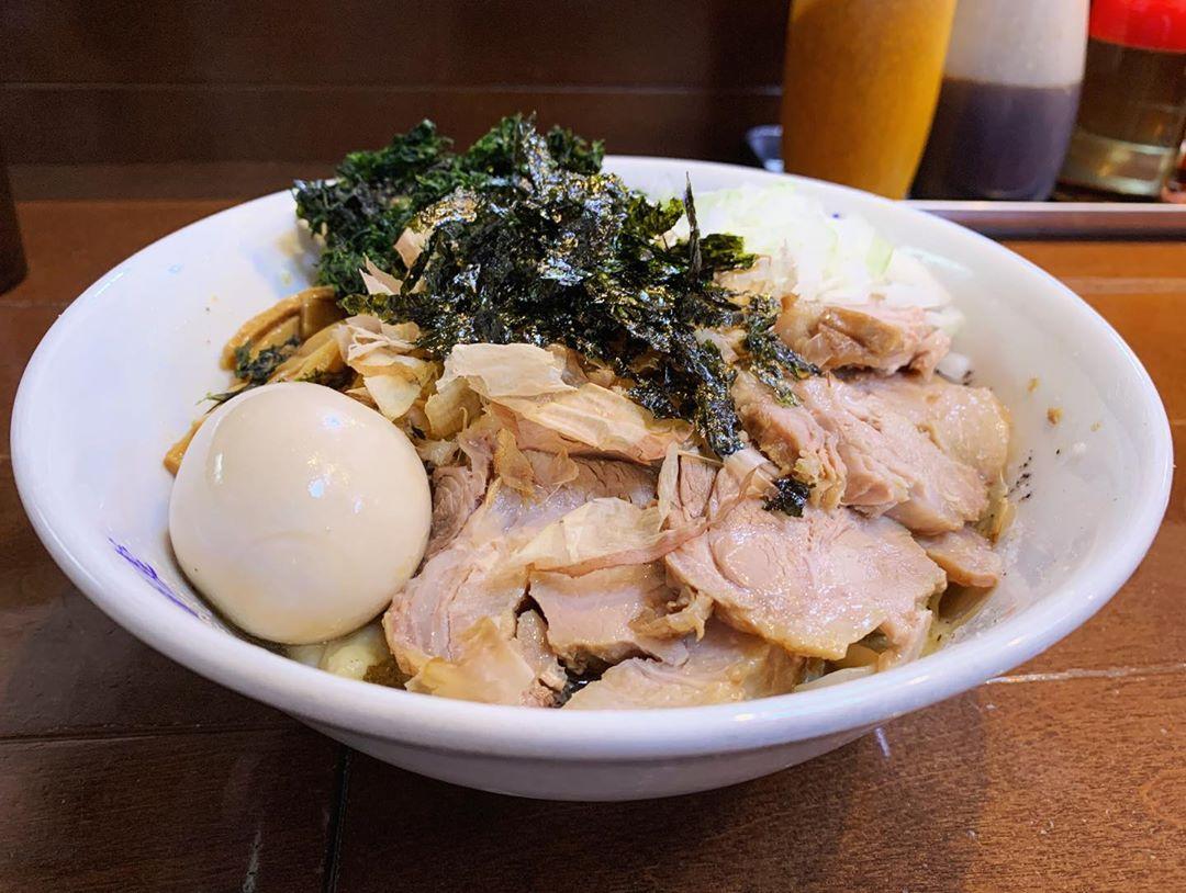 【ぎと家】特製汁なし油そば (埼玉県春日部市大場) 第1500回