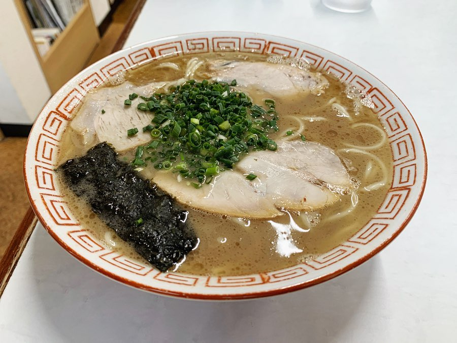 【一光軒】ラーメン+おにぎり (佐賀県唐津市相知町) 第1496回
