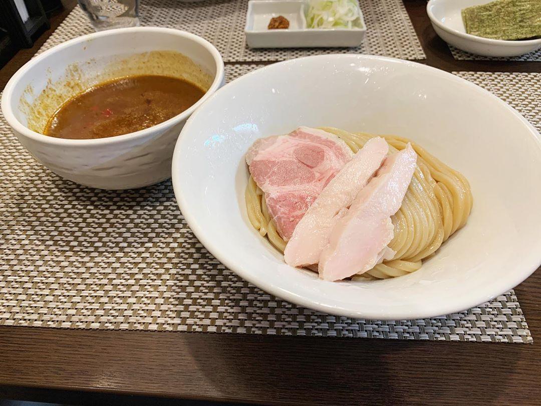 【つけ麺 和】カレーつけ麺+ライス(小) (東京都足立区西竹ノ塚) 第1527回