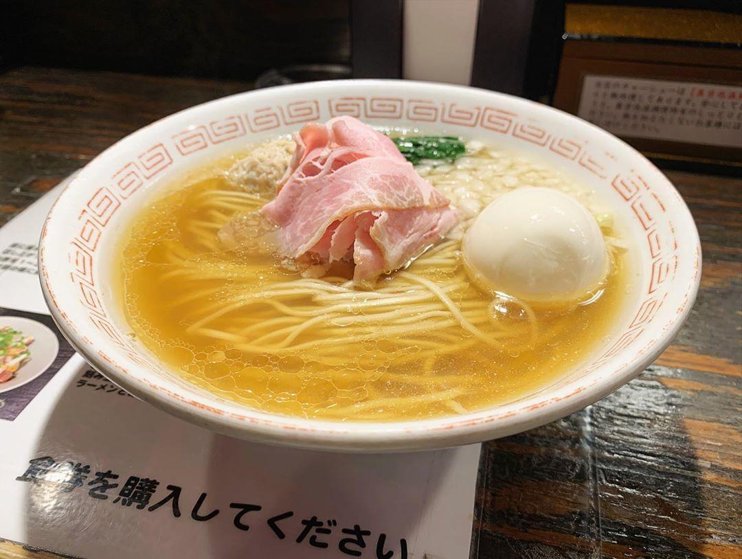 【らあめん小池】味玉煮干しラーメン+替え玉 (東京都世田谷区上北沢) 第1522回