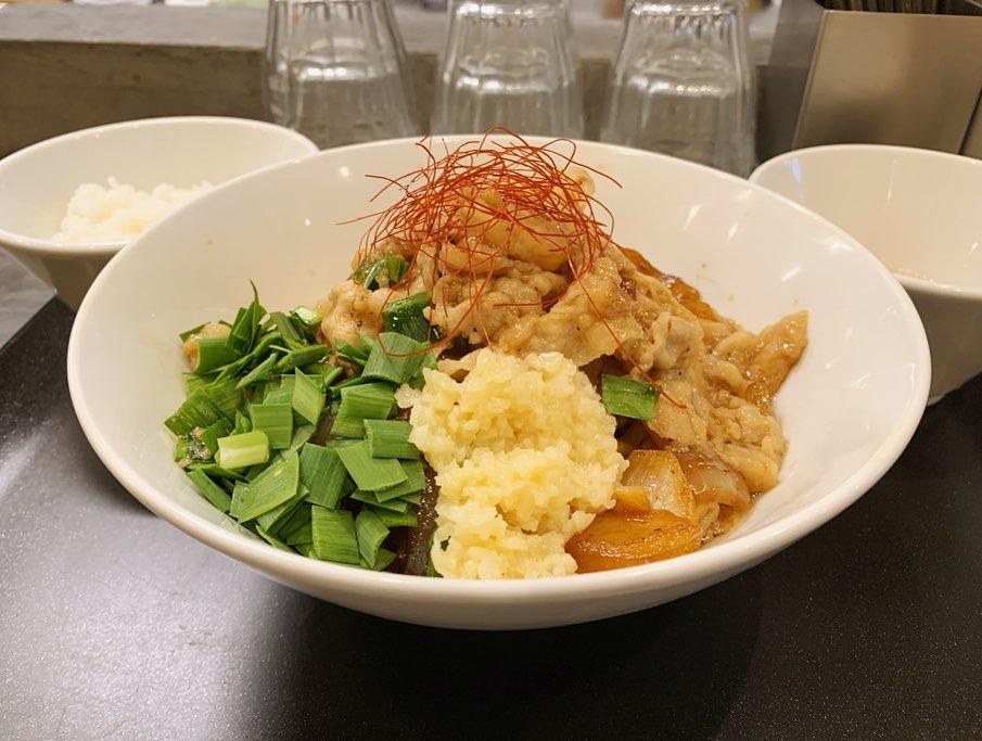 【らぁ麺やまぐち】スタミナまぜそば (東京都新宿区西早稲田) 第1562回