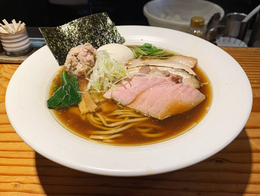 【麺処 篠はら】特製 醤油そば (東京都豊島区池袋) 第1561回