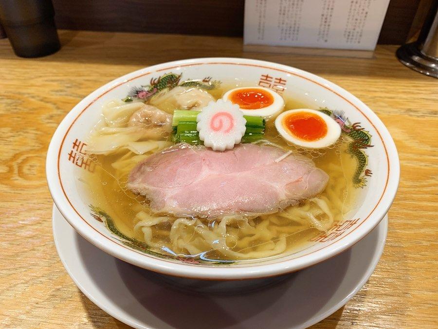 【キング製麺】ちょっとずつワンタン麺(白だし) (東京都北区王子本町) 第1592回