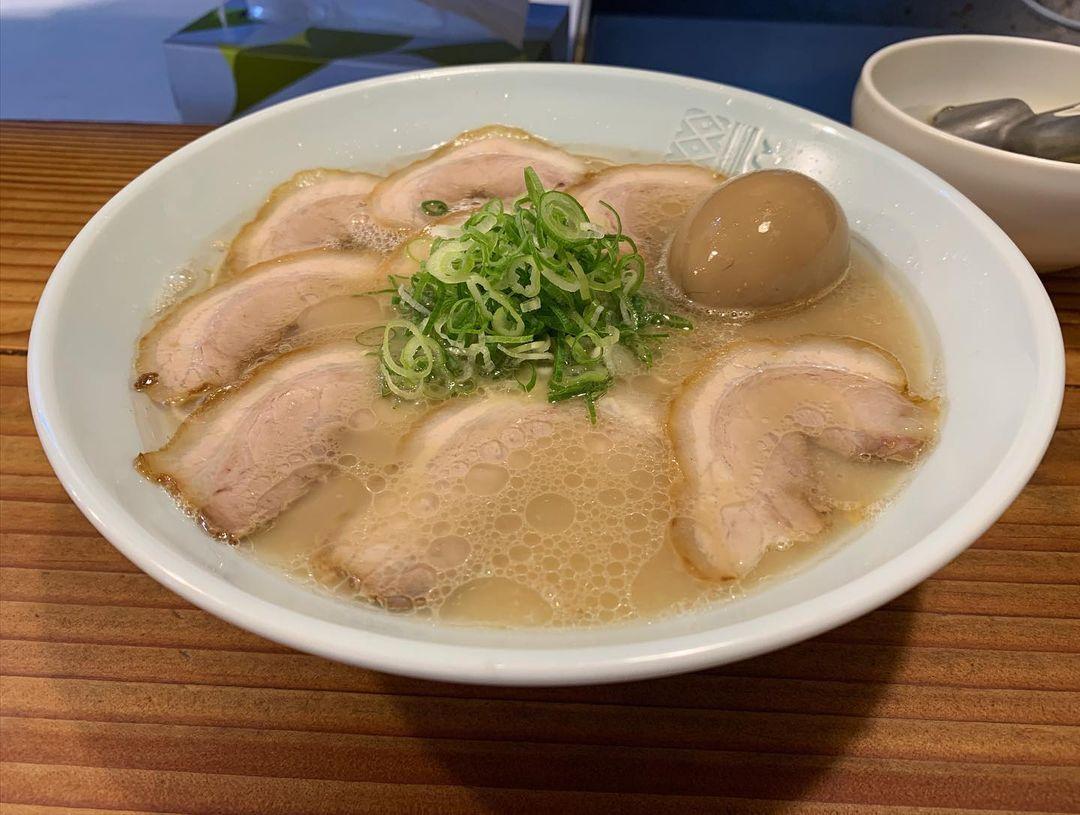 【三ん寅】味噌らーめん+煮玉子 (東京都新宿区山吹町) 第1718回